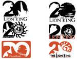 Lion King 20th Anniversary logo Designs