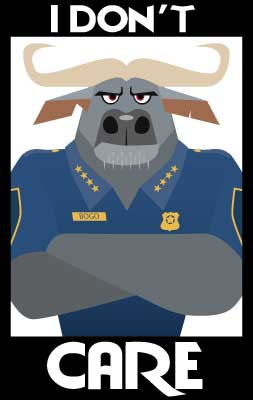 Chief Bogo I Dont' Care