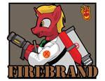 Firebrand Team Fortress 2 by Samoht-Lion