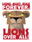 Lions Must Rule!