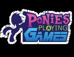 Ponies Playing Games logo