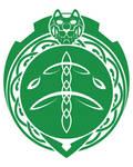 Celtic Green Lion