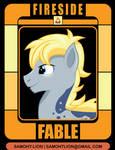 Commando Solo Brony Badge