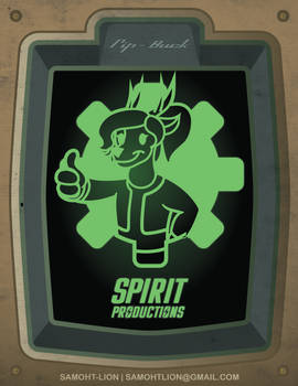 Spirit Productions Fall Out Badge