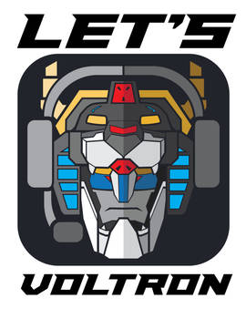 Lets Voltron Logo