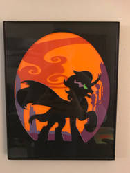 King Sombra paper cutout  by Samoht-Lion