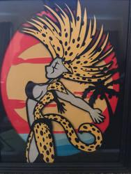 Beach cheetah  by Samoht-Lion