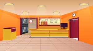 Pizza Shop Background