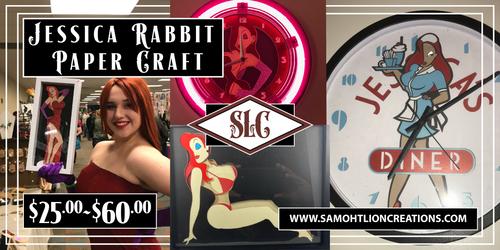 Jessica Rabbit Cutouts