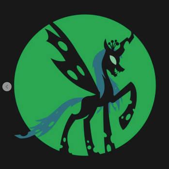 Queen Chrysalis Silhouette