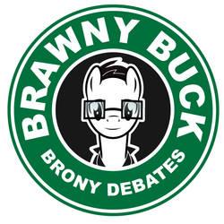 Brawnybuck coffee logo