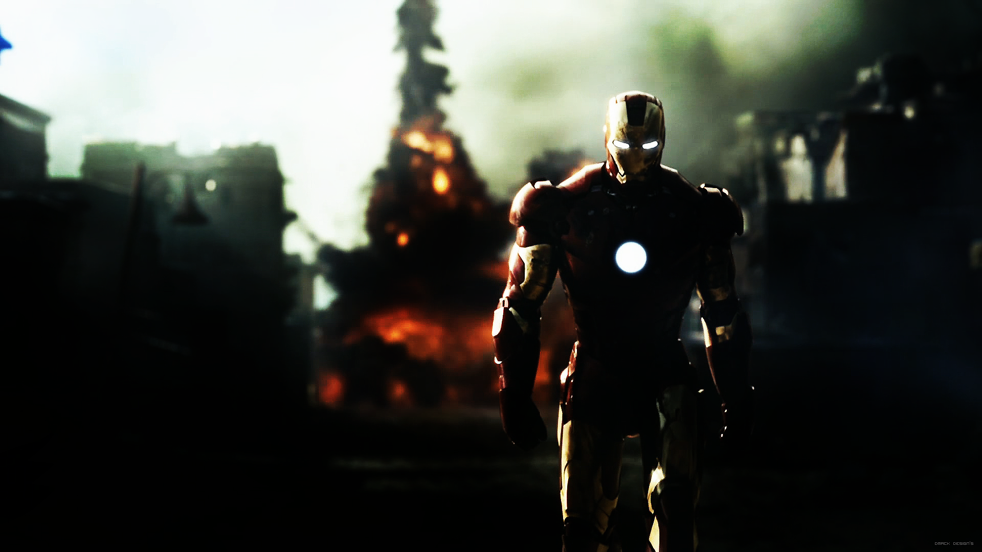 top wallpapers: Iron Man HD Wallpaper