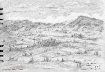 Drawing from the Mountains by Wyglaff