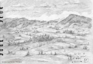 Drawing from the Mountains