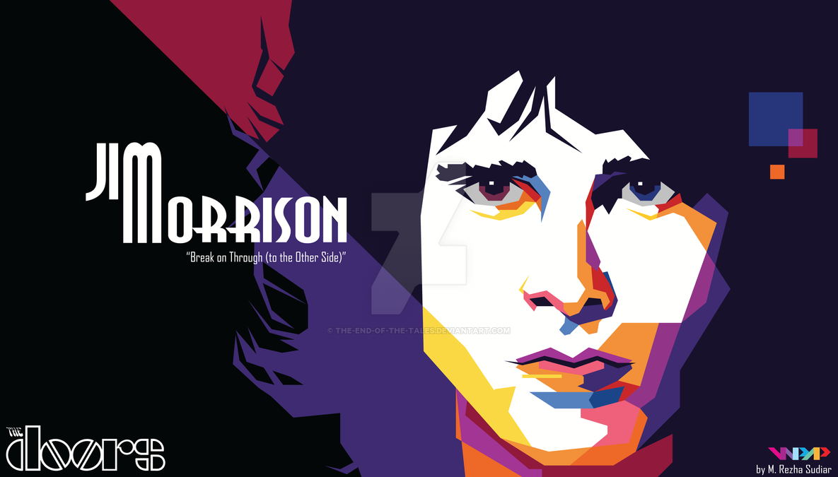 Jim Morrison of The Doors in WPAP by The-End-of-the- ...  sc 1 st  The-End-of-the-Tales - DeviantArt & Jim Morrison of The Doors in WPAP by The-End-of-the-Tales on DeviantArt