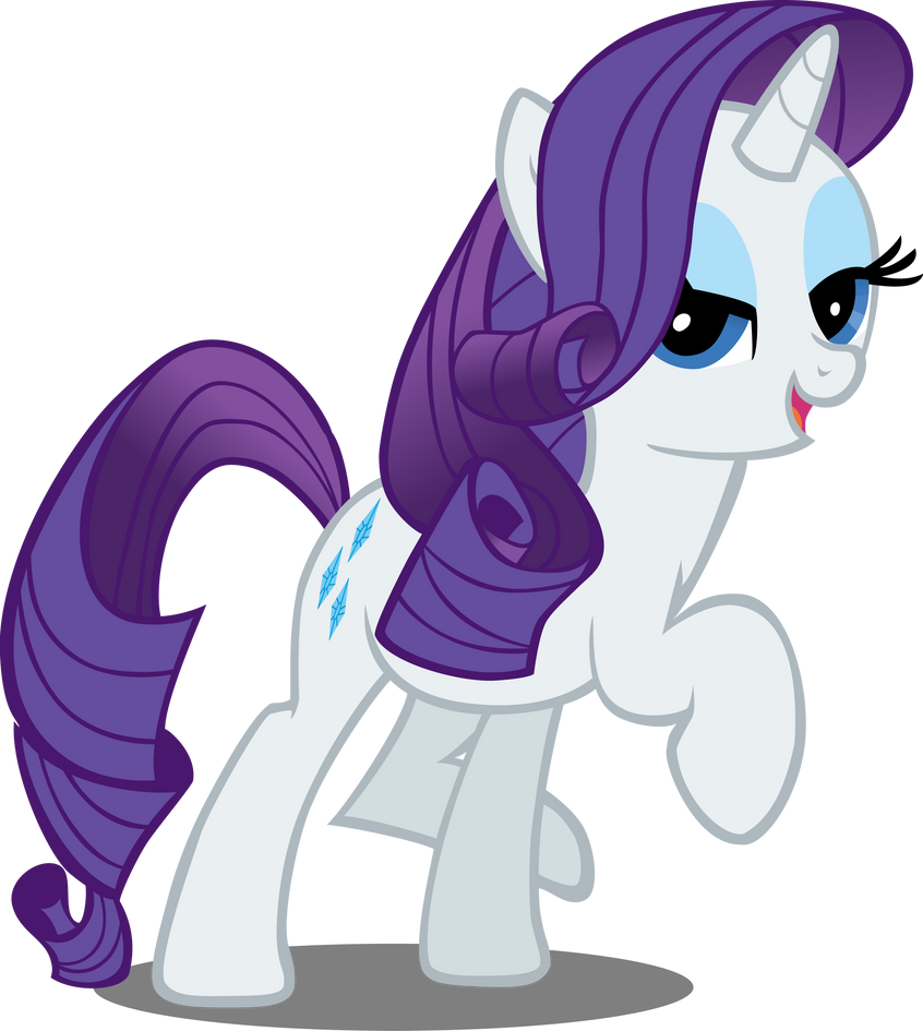 Rarity Vector by MidwestBrony