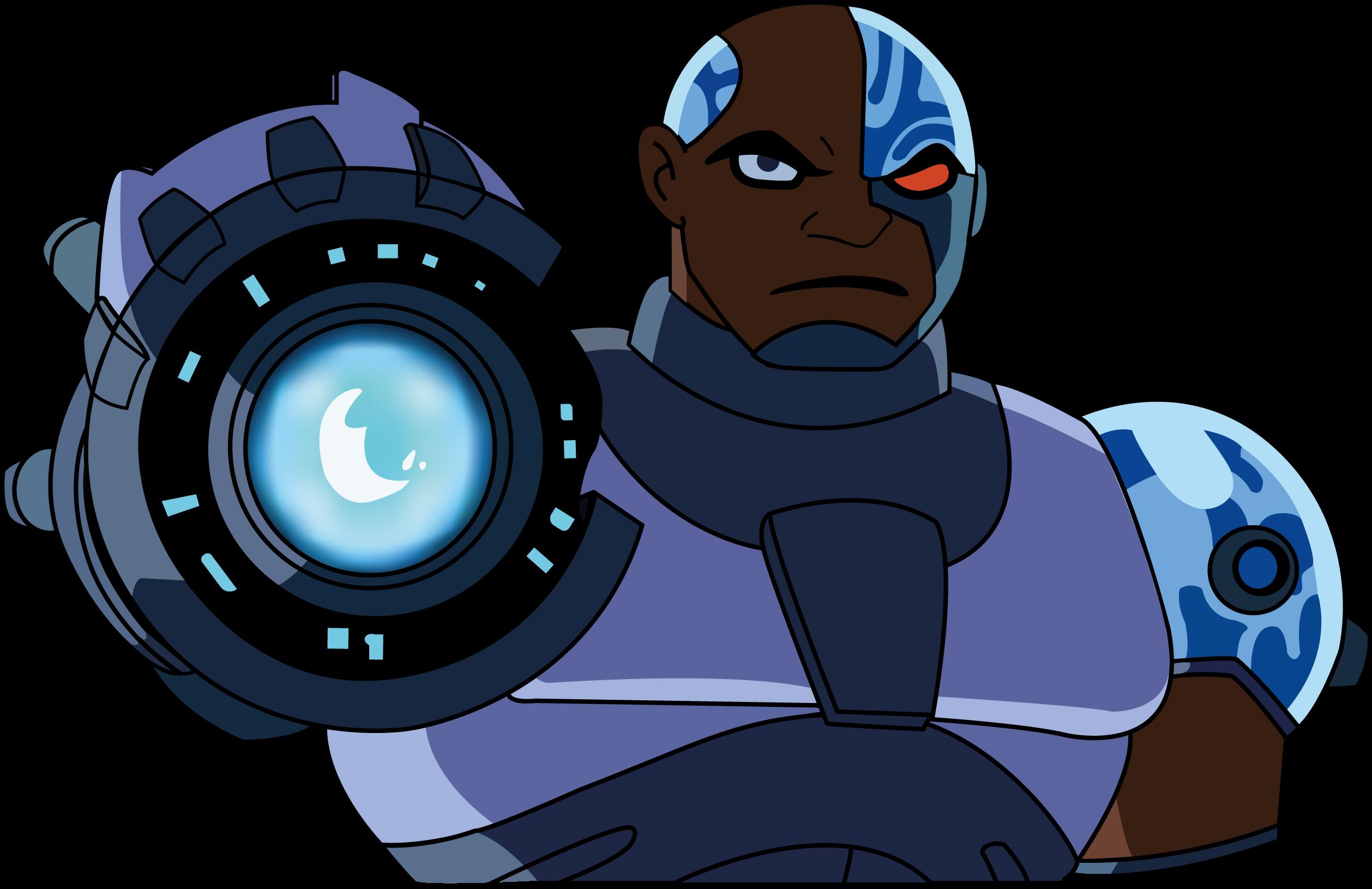 Cyborg - Teen Titans By Bouggroug On Deviantart-8617