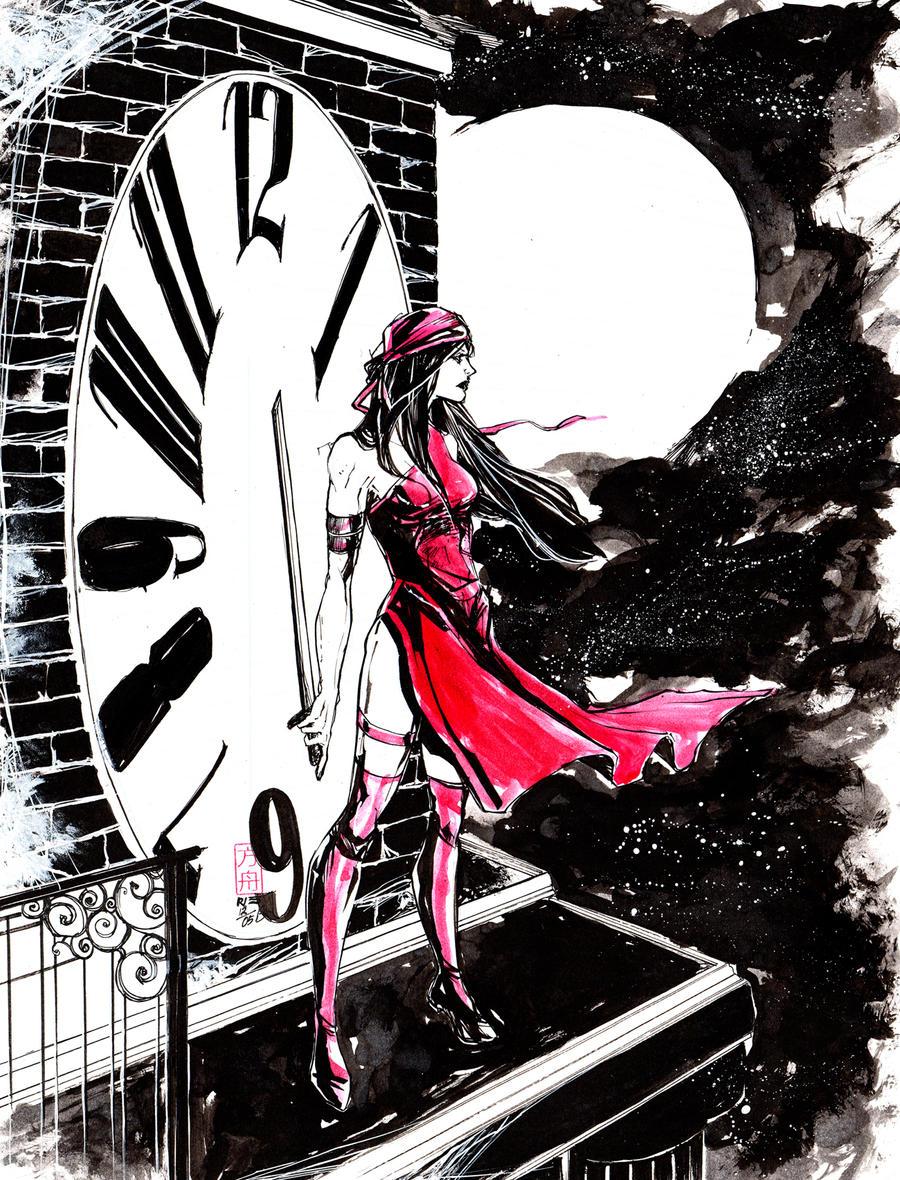 Elektra - Tip Jar Kickstarter by ARIELAkris