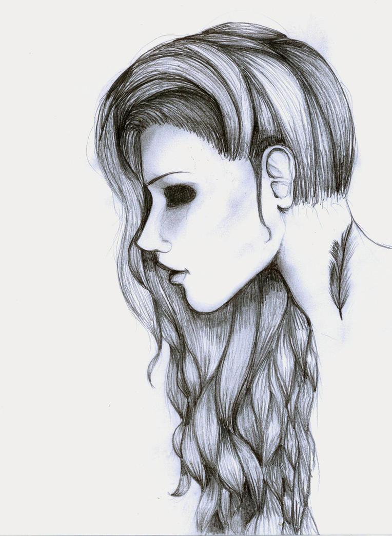 easy creepy pencil drawings - photo #6