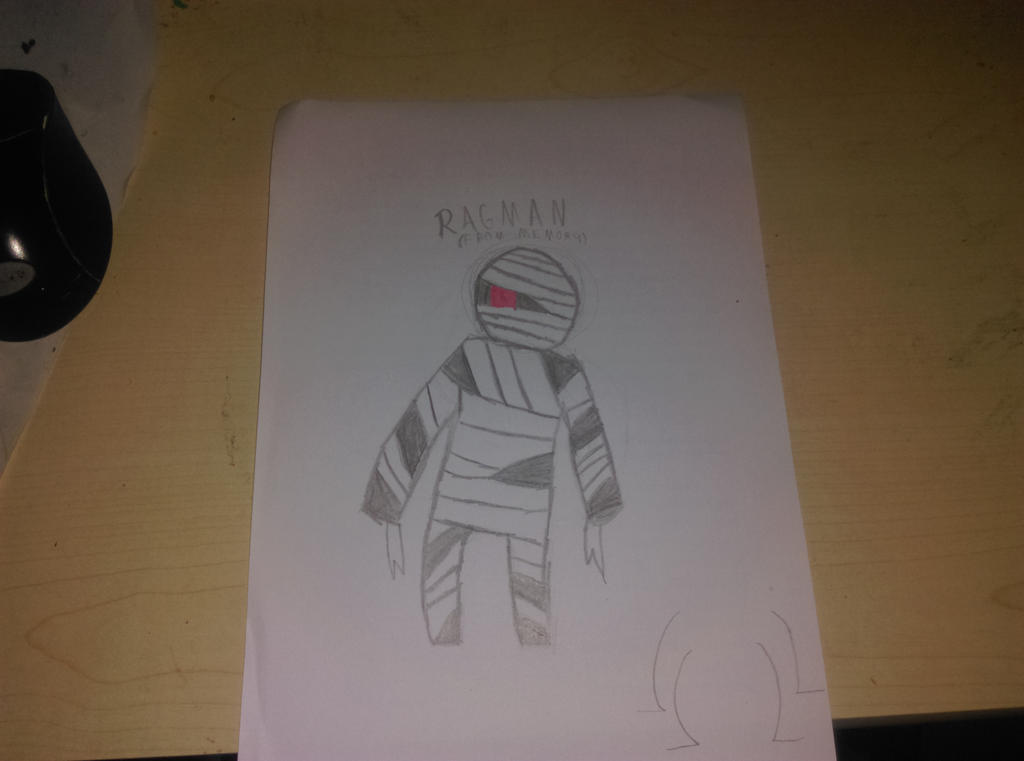 Ragman from memory by Bianced