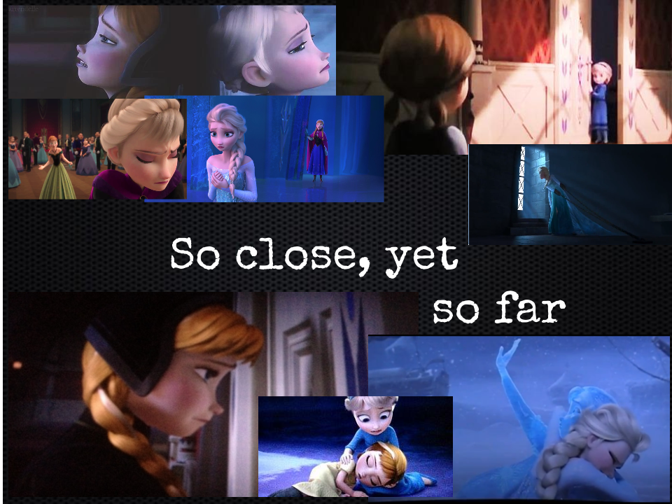 Frozen- So close, yet so far by courtneyfanTD on DeviantArt