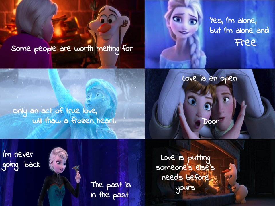 Frozen Love Quotes With Images | Djiwallpaper.co