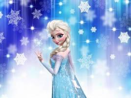 Elsa wallpaper 2 by courtneyfanTD