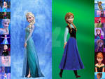 Frozen- Elsa or Anna