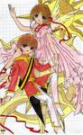 Sakura and Syaoran -Fairytale- by MissMikopete