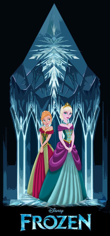 FROZEN: Anna and Elsa by MissMikopete