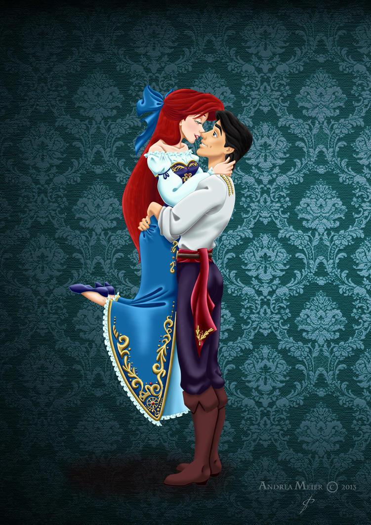 ariel and eric. Designer Fairytale  ARIEL ERIC by MissMikopete on DeviantArt