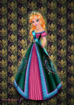 Royal Jewels Dress Edition: ANNA