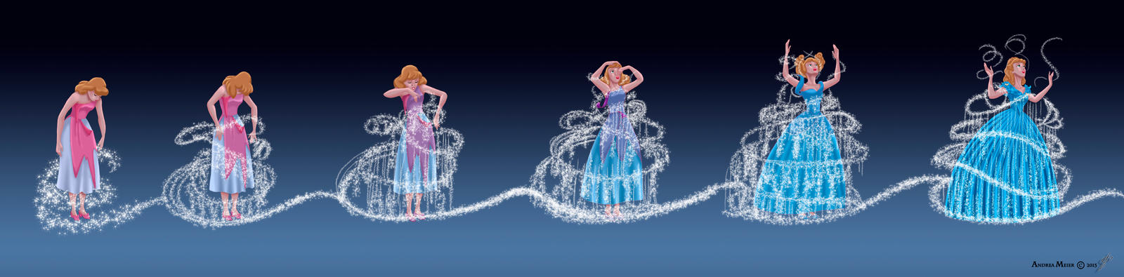 Cinderella 2015 - Bibbidi - Bobbidi - Boo by MissMikopete