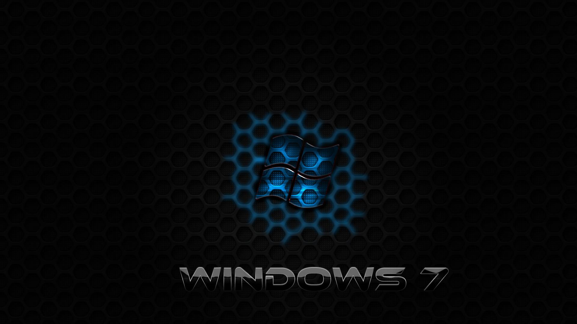windows 7 blue glass by bluexr