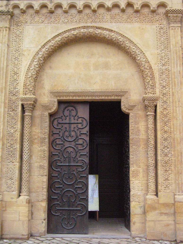 romanic doorway 2 by Stockudith
