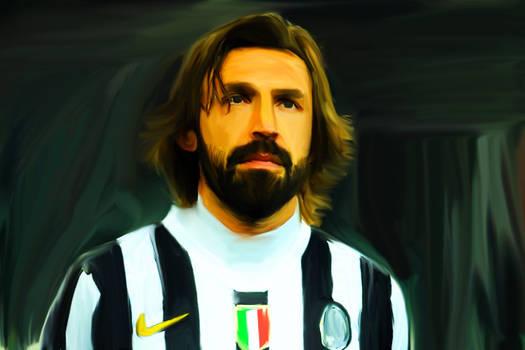 Andrea Pirlo - Digital Painting
