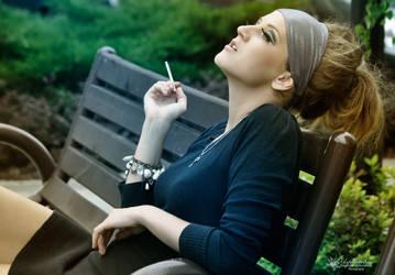 Smoking again by asphodel-magic