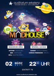 MADHOUSE - PARTY FLYER
