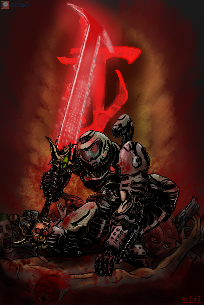 Doom Slayer By Octahedron0 On Deviantart