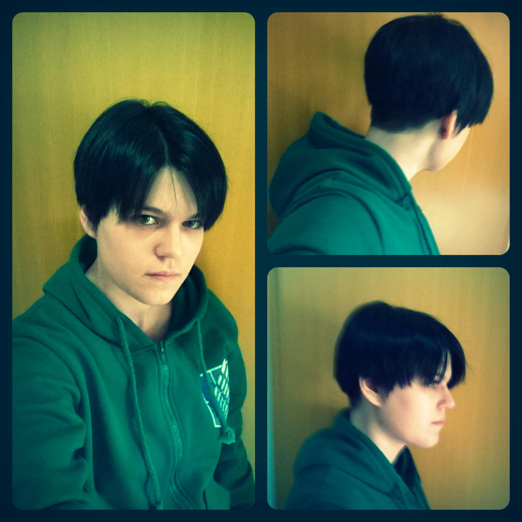 Levi Hairstyle 2nd Try D By Kawaii Fruit On Deviantart