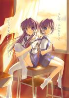 Kyou and Ryou by MistaYoH