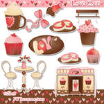 Love Cafe Clipart