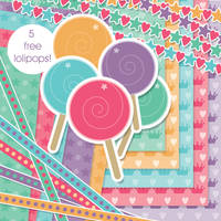 Little Dreamers Bkgs Borders by jdDoodles