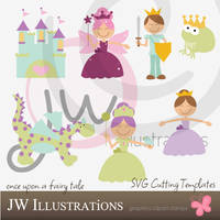 Fairy Tale Cricut SVG