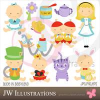 Alice in Babyland by jdDoodles