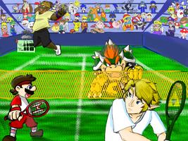 SSB: Tennis by 3-Minute-Noodles