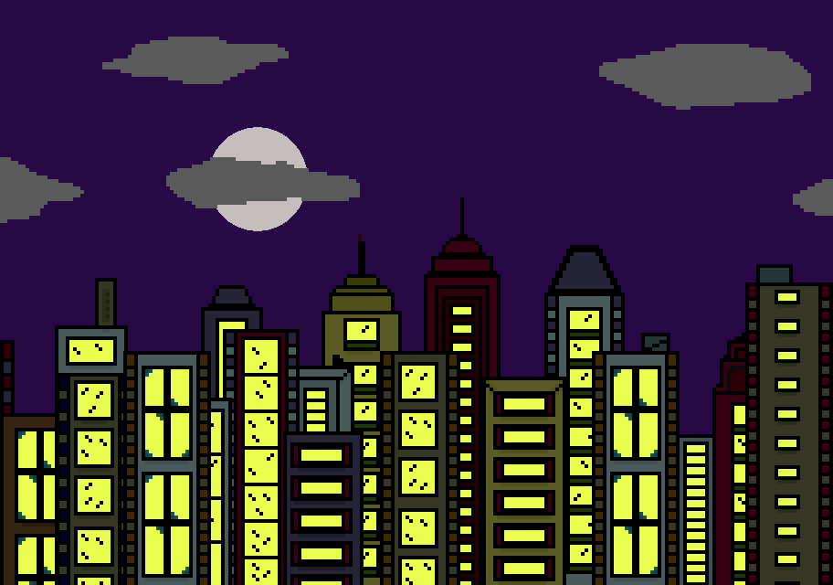 Pin Cartoon City Skyline Royalty Free Cliparts Vectors And ...