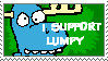 HTF Stamp- Lumpy by Dotario