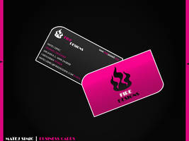 Business card by mshimich