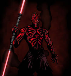 Darth Maul by jtpark